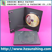 black dvd case, PP dvd box