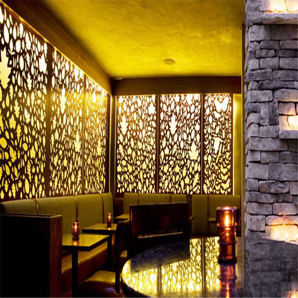 Decorative Laser Cuting Corten Steel Garden Screen For Sale - Buy ...