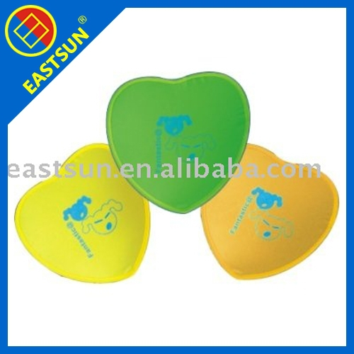 Non Woven Advertiser Gift Folding Frisbee Flying Disc