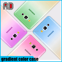 Cheap Ultra thin double color gradient transparent slim soft tpu case for samsung s7/s7edge/s7 plus /s6edge/s6/s5/note 5/note 4