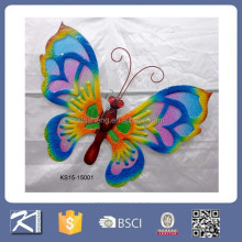 Home decoration items metal wall art of butterfly wall decor