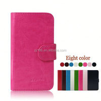 Wholesale Stand Wallet Leather Flip Phone Cover Case For ZTE U808 With Soft Tpu Case Inside