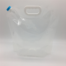 10L stand up spout water bags made in China