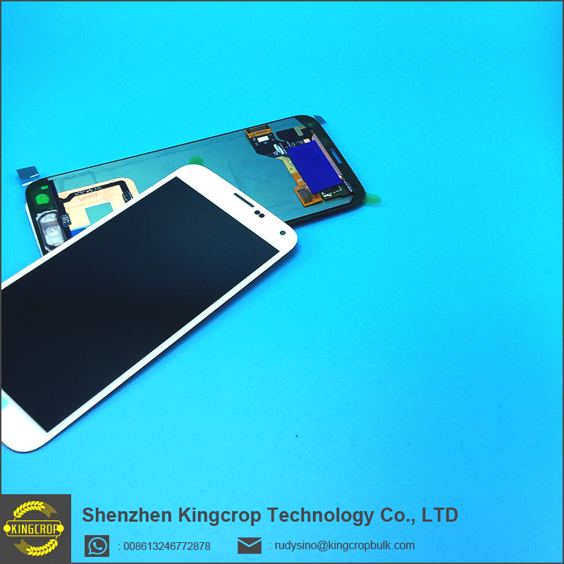Original NEW Kingcrop Lcd display for samsung galaxy s5 G900f lcd screen display, S5 lcd with home button