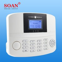 Soan home automation smart APP control home security alarm system wireless GSM alarm system with multi-function