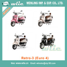 2018 New gas scooter motorcycle free for wholesale Retro-3 50cc/125cc (Euro 4)