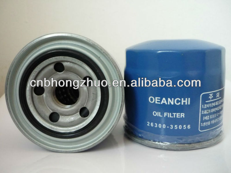 Auto Oil filter 26300-35056 use for HYUNDAI car parts
