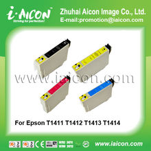For Epson ME32 ME320 ME340 inkjet ink cartridge T1411-T1414