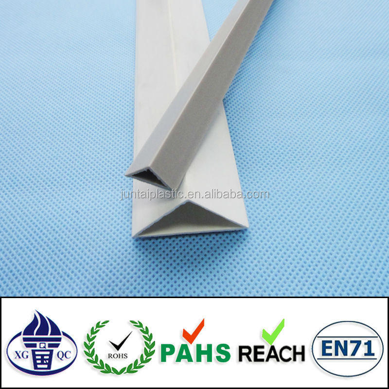customized extrusion pvc hollow profile for construction