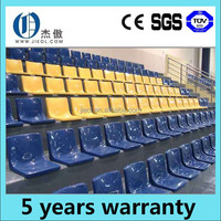 telescopic grandstand chair retractable seating for badminton soccer entertainment sports games