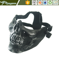 ABS Tactical Military Skeleton Skull Skeleton Airsoft Paintball Half Face gas Mask