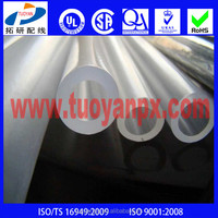 High strength UV Resistant clear pvc pipe