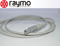 odu compatible plastic pin connectors and cables for medical equipment