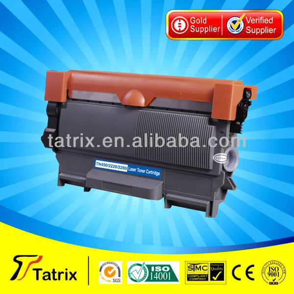 TN450 , Toner Cartridge TN450 Compatible for brother T450 Toner Cartridge Used In for brother Printer With ISO,STMC,SGS Approved