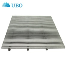 Customized Stainless Steel Johnson wedge wire screen flat panel for floor drain