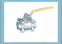 high quality small stainless steel female npt screw ball valve