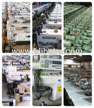 Reconditioned Industrial Sewing Machines