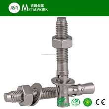 A2 A2-70 A2-80 Stainless Steel SS304 Wedge Anchor Bolt