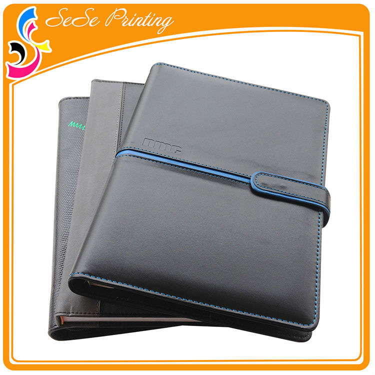 High school agenda books dairy notebook with metal coil custom