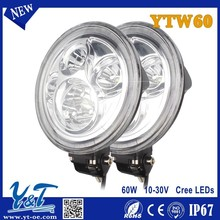 Auto Lamp LED 12V Working Light Offroad Off road 60W LED Lights Motocycle Used