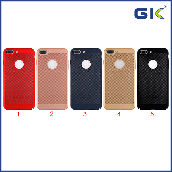 [GGIT] All-Covered Ultra-thin Heat Dissipation PC Cover For IPhone 7 Plus Cell Phone Case