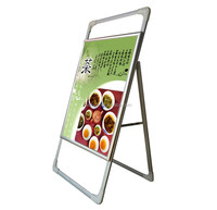 single side portable banner display shop sign board