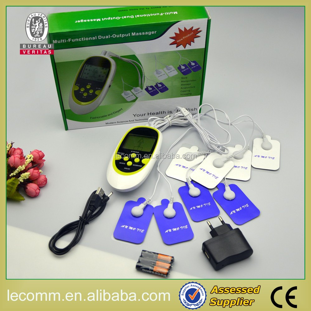 Multi-Functional Dual-Output Massager,Tens Digital Thermal Machine
