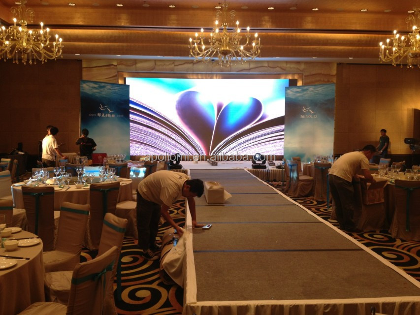 high quality rental full color xxx video led screen!P4 rental led screen,P4 background rental led video wall screen