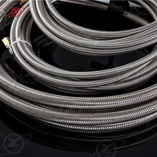 HY-002 high pressure flexible air hose plumbing braided teflon hose