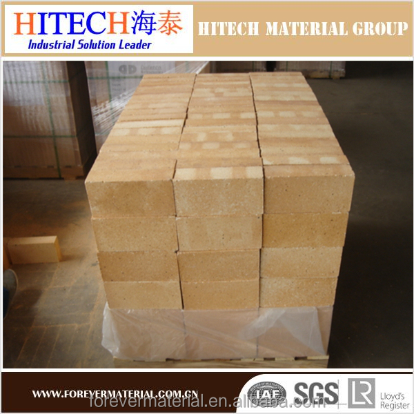 Competitive price low porosity fireclay brick for fireplace