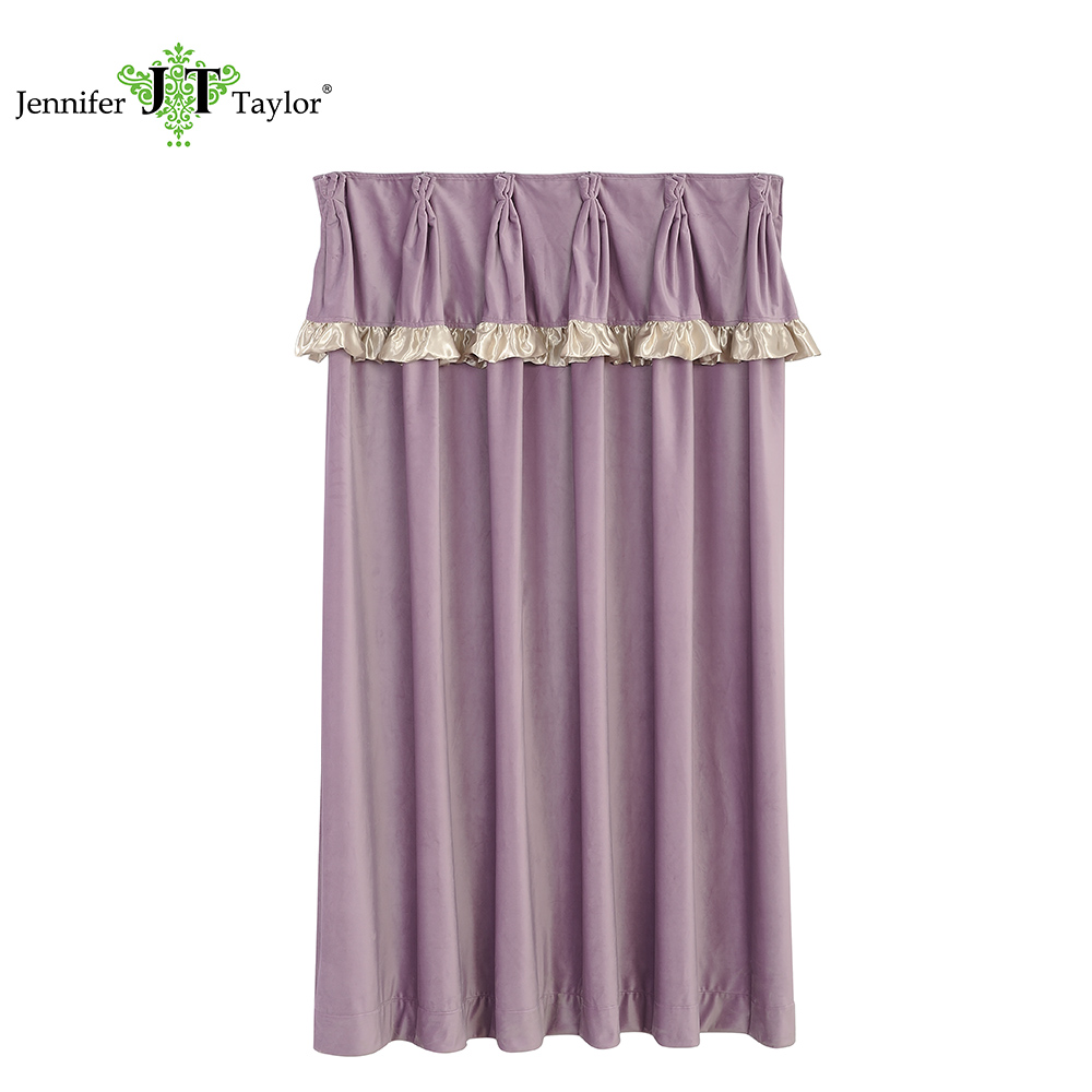 Home furniture factory supply home textile window curtain/romantic pink fabric curtain/Japan hot selling window fabric curtain