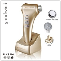 Home Laser Skin Rejuvenation Machine, multi functional ultrasound and ionic cosmetic beauty device