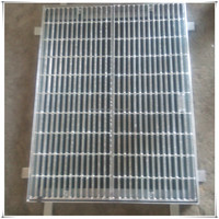 High quality galvanized steel bar grating drain cover