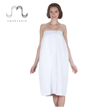 Best White Women's Sleeveless Cotton Waffle Bathrobe for Spa Salon