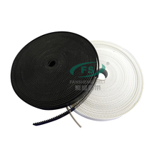 The Desktop Laser Cutter parts PU gt2 timing belt 6 8 10mm width belt