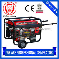 CE Approval Power value AC Output 2600W rated power Gasoline generator
