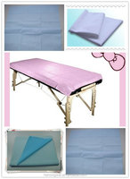 hospital disposable bed sheet/cover/PP/ PP+PE/SMS /waterproof