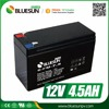 Bluesun good price lead acid battery 12v 4.5ah with ISO CE ROHS Certificate
