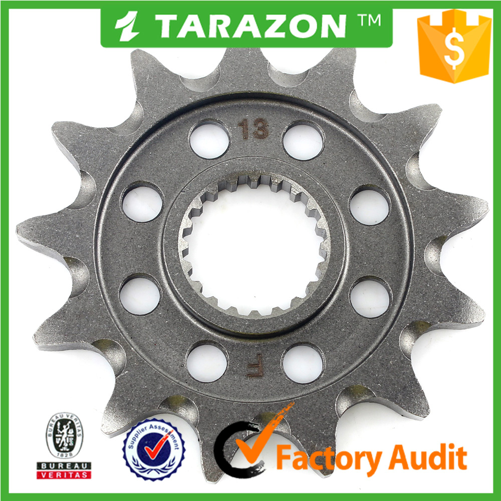 Wholesale cheap titanium motorcycle sprockets for Honda CRF 450R dirt bike parts