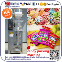 Hot Sale! price 304 stainless steel film /plastic bag /pouch vertical packaging machine for candy with ce