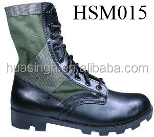 humid resistant panama rubber sole olive green nylon army duty jungle boots