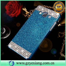 New arrival glitter phone case for Samsung galaxy note 5 acrylic protective cell phone back cover