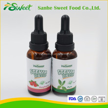 Natural flavored stevia extract FDA and GMO certificated