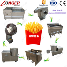 Ce Approved French Fries Making Equipment Machine To Make Potato Chips For Sale