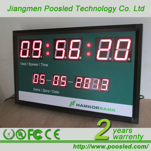 indoor digital timer  industrial digital timer  large display digital timer