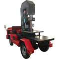 Sawmill-world Vertical Portable Sawmills Log Bandsaw