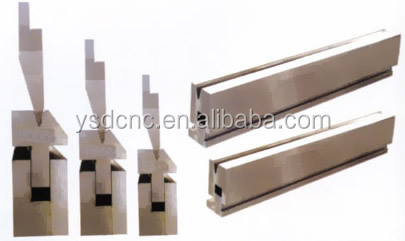 "Shanduan bender machine tool and mold 63T/2500 CNC punch and bend dies for ""2500X85X28"" hydraulic press brake"