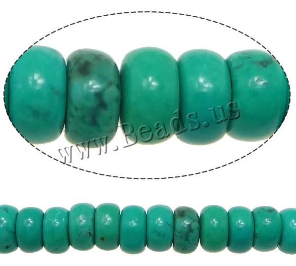 Free shipping!!!Turquoise Beads,fantasy women jewelry, Rondelle, 2x4mm, Hole:Approx 0.7mm, Length:Approx 16 Inch, 10Strands/Lot