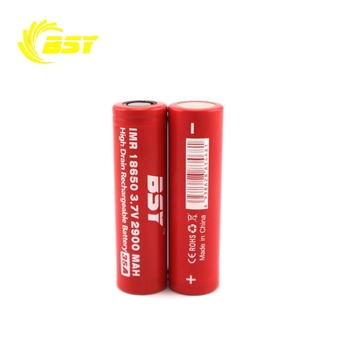 Deep Cycle Lithium 3.7V Rechargeable Li ion 3.7V 2900mAh 35A Li-ion Battery 18650 for Flashlight