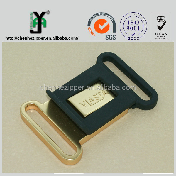 hot sale different styles of aluminum lock metal bag buckles